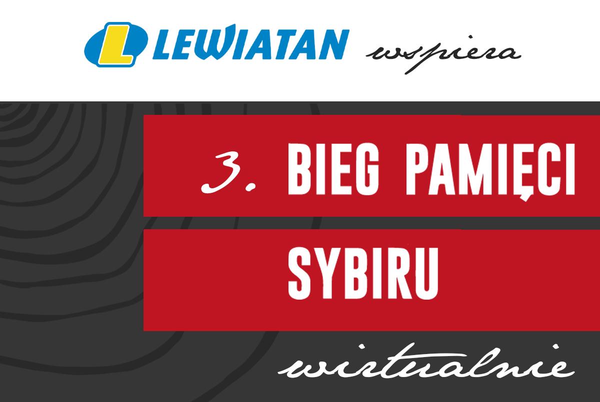 Lewiatan wspiera Bieg Pamięci Sybiru!